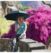 Parasol turystyczny Trek Umbrella Medium Lifeventure black