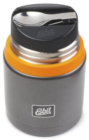 Termos obiadowy Esbit Food Jug Plus dark grey orange 750 ml