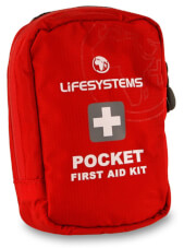 Apteczka podróżna Pocket First Aid Kit Lifesystems 17 części