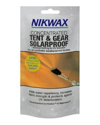 Impregnacja namiotu Koncentrat Tent&Gear SolarProof Nikwax (po rozcieńczeniu 500 ml)