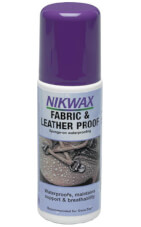 Impregnat do butów ze skóry i tkanin 125ml gąbka Nikwax