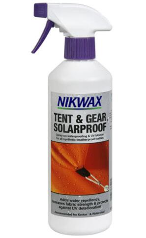 Impregnat do namiotów Tent&Gear SolarProof Spray-On atomizer 500ml Nikwax