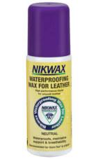 Nikwax wosk impregnujący do skóry licowej bezbarwny 125ml gąbka