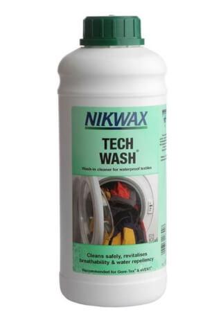 Środek piorący do sprzętu turystycznego i odzieży wodoodpornej 1000ml Nikwax Tech Wash
