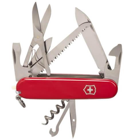 Scyzoryk Victorinox Huntsman czerwony