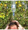 Nakładka prysznicowa na butelkę Travel Bottle Shower Lifeventure