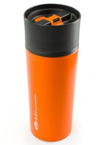 Kubek termiczny 0,5 L pomarańczowy GLACIER STAINLESS COMMUTER MUG GSI outdoors