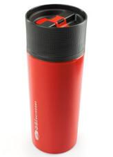 Kubek termiczny ze stali nierdzewnej 0,5 L czerwony GLACIER STAINLESS COMMUTER MUG GSI outdoors