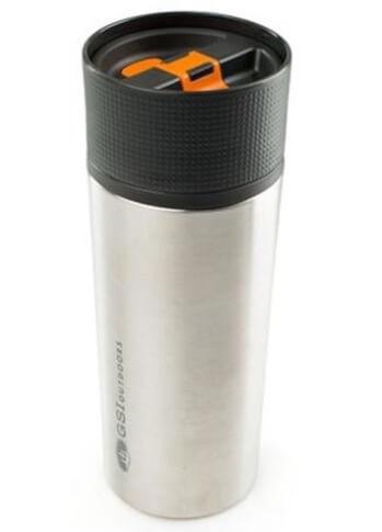 Kubek termiczny ze stali nierdzewnej 500 ml srebrny GLACIER STAINLESS COMMUTER MUG GSI outdoors