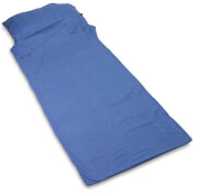 Bawełniana wkładka do śpiwora prostokątna Cotton Sleeping Bag Liner Rectangular Lifeventure
