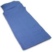 Bawełniana wkładka do śpiwora prostokątna Cotton Sleeper Lifeventure