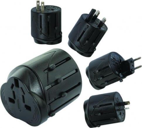 Uniwersalny adapter turystyczny  do gniazdek elektrycznych - Universal travel Adaptor