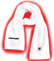 Ogrzewany szalik Glovii biały