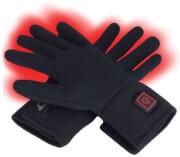 Ogrzewane rękawice motocyklowe Glovii czarne