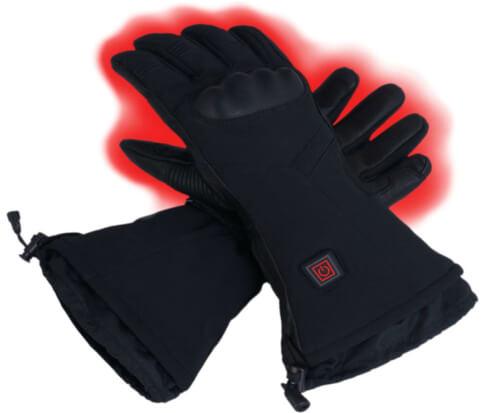 Ogrzewane rękawice narciarskie Glovii czarne