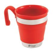Silikonowy kubek składany Outwell Collaps Mug Red