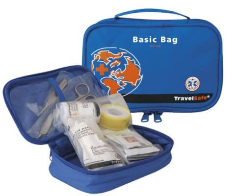 Apteczka turystyczna Basic Bag Travel Safe 22 elementy