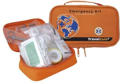 Apteczka turystyczna Emergency Kit TravelSafe 63 elementy