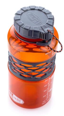 Podróżny bidon 1 litr pomarańczowy Infinity Dukjug GSI
