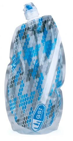 Butelka turystyczna 1 litr niebieska GSI H2O LITE