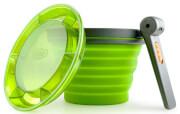 Kubek nawadniający żywność 625 ml zielony GSI COLLAPSIBLE FAIRSHARE MUG