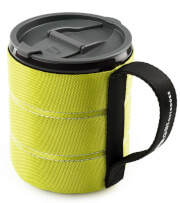 Kubek termiczny z pokrywką 480 ml zielony Infinity Backpacker Mug GSI Outdoors