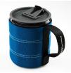 Kubek termiczny izolowany 480 ml niebieski GSI INFINITY BACKPACKER MUG