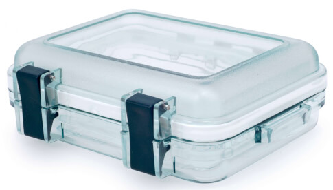 Przezroczysty pojemnik GSI LEXAN GEAR BOX XS