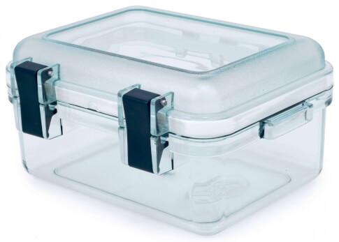 Przezroczysty pojemnik GSI LEXAN GEAR BOX S