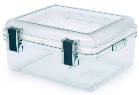 Przezroczysty pojemnik GSI LEXAN GEAR BOX M