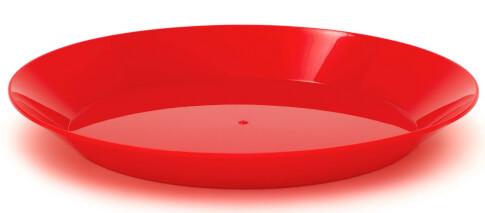 Talerz turystyczny czerwony GSI outdoors CASCADIAN PLATE
