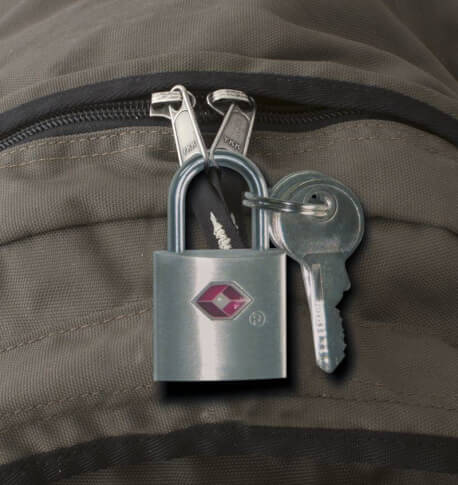 Podróżna kłódka na kluczyk Trafel Safe Travellock Key TSA