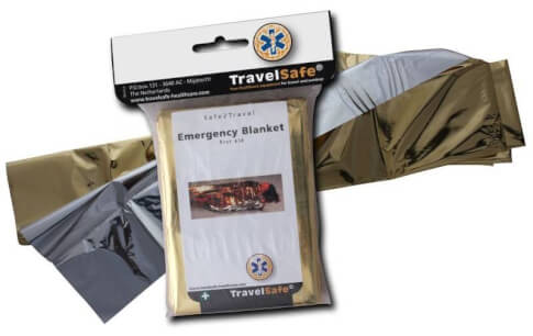 Folia ratunkowa Travel Safe Emergency Blanket