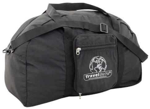 Składana torba turystyczna travel Safe Weekend Bag czarna