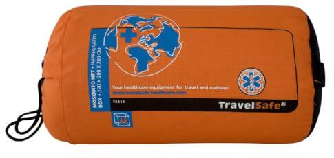 Moskitiera turystyczna Travel Safe Box Style z dodatkową impregnacją dla 2 osób