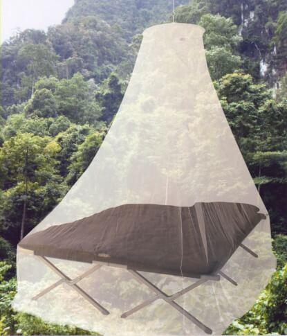 Moskitiera turystyczna Travel Safe Pyramid Style dla 2 osób