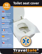 Nakładki na toaletę Travel Safe Toilet Seat Cover 10 szt.