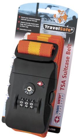 Pasek z szyfrem na walizkę Travel Safe Webbing TSA