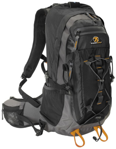 Plecak turystyczny Travel Safe Greyhound Black 27 L czarny