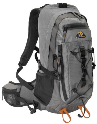 Plecak turystyczny Travel Safe Greyhound Black 27 L szary