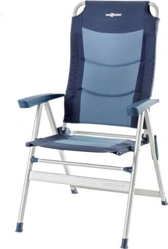 Krzesło turystyczne Brunner Kerry Slim 600 blue niebieskie