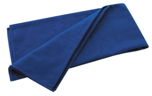 Ręcznik szybkoschnący Travel Safe Microfiber Towel (40x40) niebieski