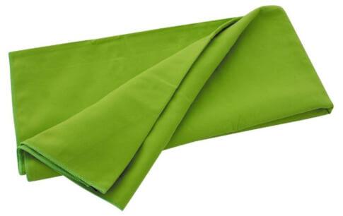Ręcznik szybkoschnący Travel Safe Microfiber Towel (40x40) zielony