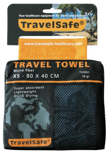 Ręcznik szybkoschnący Travel Safe Microfiber Towel XS niebieski