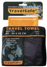 Ręcznik szybkoschnący Travel Safe Microfiber Towel XS fioletowy