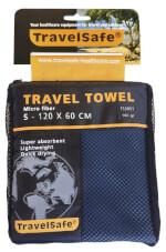 Ręcznik szybkoschnący Travel Safe Microfiber Towel S niebieski