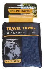 Ręcznik szybkoschnący Travel Safe Microfiber Towel M niebieski