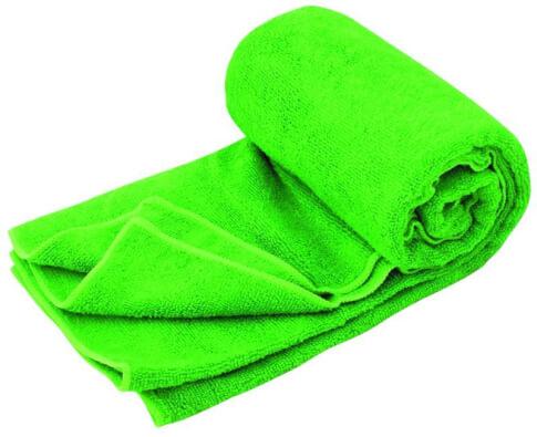 Ręcznik szybkoschnący Travel Safe Microfiber Terry Towel XL zielony