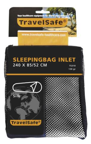 Wkładka do śpiwora z jedwabiu Travel Safe Silk Mummy