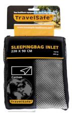 Wkładka z bawełny do śpiwora koperta Travel Safe Cotton Envelope
